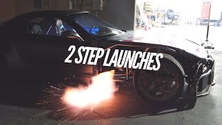 Crazier 2 Step Launches with the AWD 4 Rotor found a Problem!  Richard Hammond Roasted It!