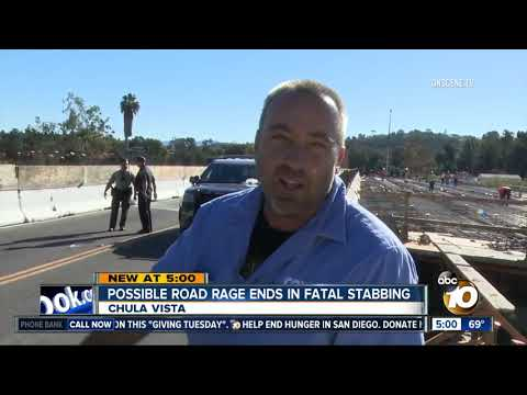 Possible road rage ends in fatal Chula Vista stabbing