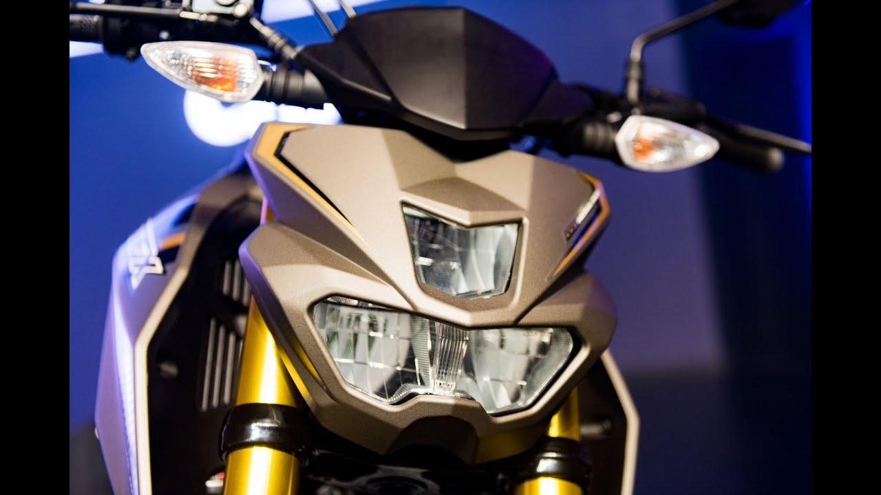 Yamaha Ftx 150 >> Yamaha launched TFX150 - naked bike 150 cc,10/2016 sold - YouTube