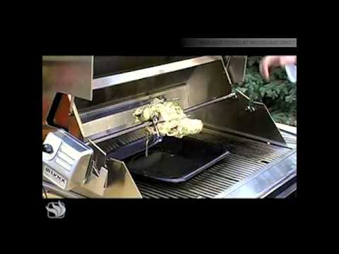Using the Rotisserie on a Lynx Grill