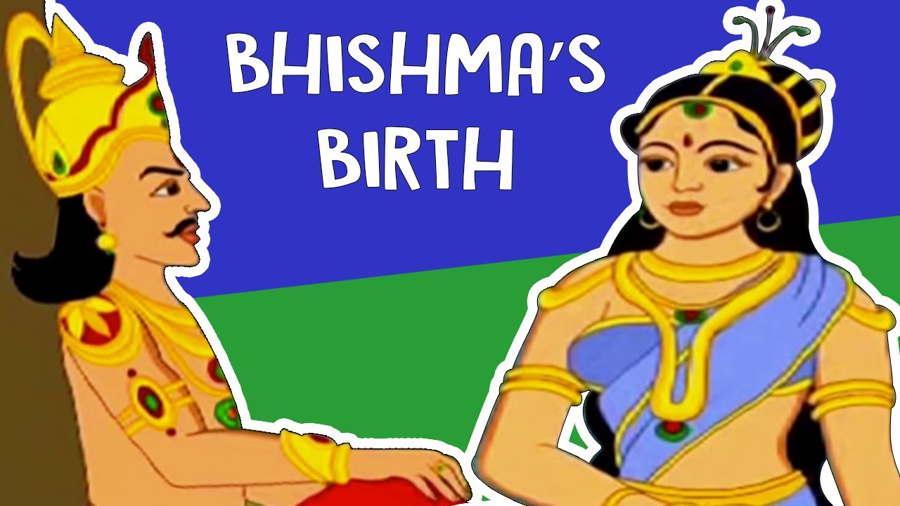 Role Of Bhishma Mahabharata English Short Story Cartoon For Kids Hd Episode 1 Youtube