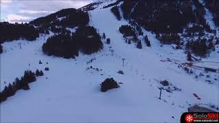 La Molina a vista de Dron