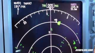 Air Traffic ✈ TCAS - WEATHER RADAR and REALITY
