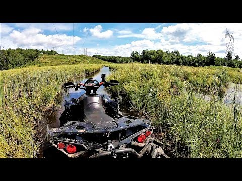 Swamped, Broken, and Burried!!! (Monster Can Am Renegade)