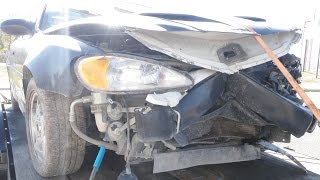 2004 Pontiac Grand Am GT SC/T front end repair with drivetrain removal time lapse video