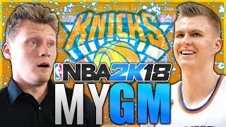 FULFILLING OUR DESTINY! NBA 2K18 KNICKS MyGM #4