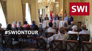 Swiss in Boston discuss value of being heard in Bern