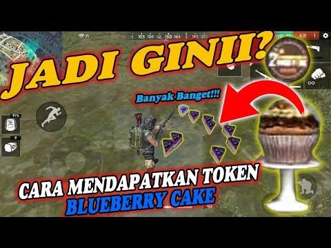 BEGINI TERNYATA!! CARA DAPATIN TOKEN BLUEBERRY CAKE - FREE FIRE INDONESIA