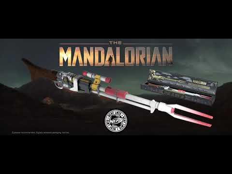 Star Wars: The Mandalorian - Nerf - Amban Phase-pulse Blaster - Video