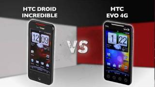 Prizefight: HTC Droid Incredible vs. HTC Evo 4G