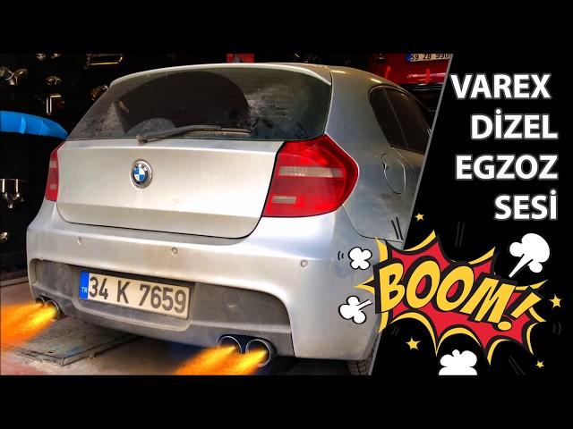 BMW E87 1.20 DİZEL KUMANDALI VAREX EGZOZ