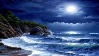 'Лунная соната' Бетховена и  шум моря - Beethoven 'Moonlight Sonata' and ocean