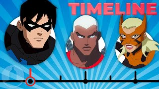 The Complete Young Justice Timeline  Channel Frederator