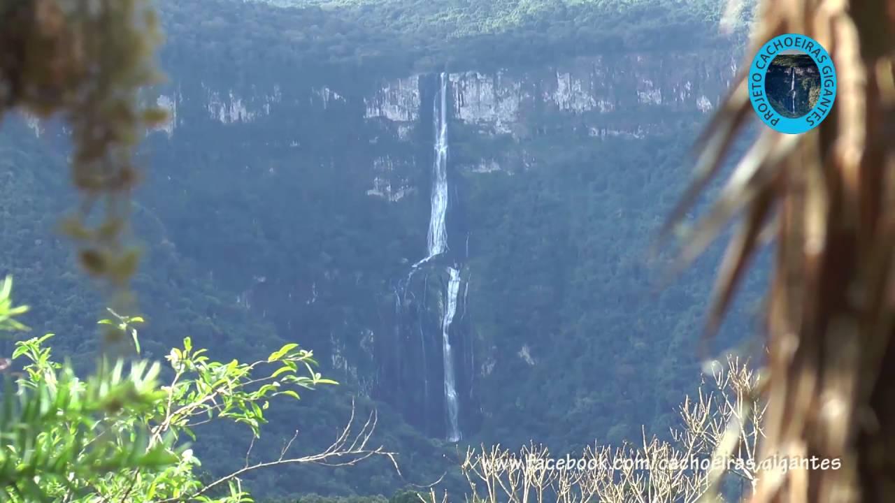 Projeto Cachoeiras Gigantes - Cascata Água Branca - YouTube