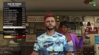 Grand Theft Auto v...... Como tener el pelo de dos colores!