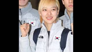 Kim Bo-Reum  김계환,  silver medal  at the mass start speed skating at Winter Olympics in South Korea