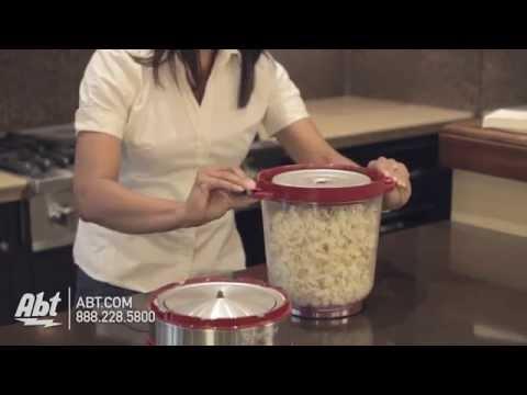 Cuisinart EasyPop Red Popcorn Maker CPM700 - Overview