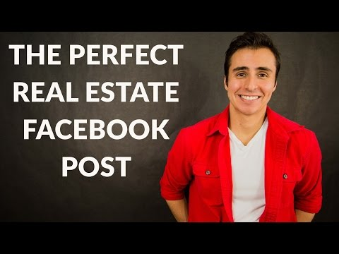 How Do You Make The Perfect Real Estate Facebook Post?