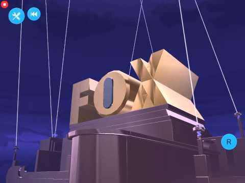 [Blocksworld HD] Fox Broadcasting Company Logo (w/ 20th Century Fox Fanfare)