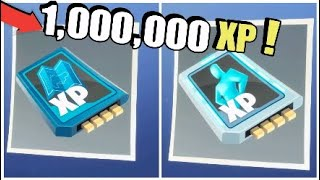 How To Get 1,000,000 Hero and Survivor XP | Fortnite Save The World