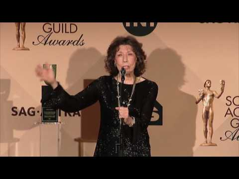 Lily Tomlin - SAG Awards 2017 - Full Backstage Interview