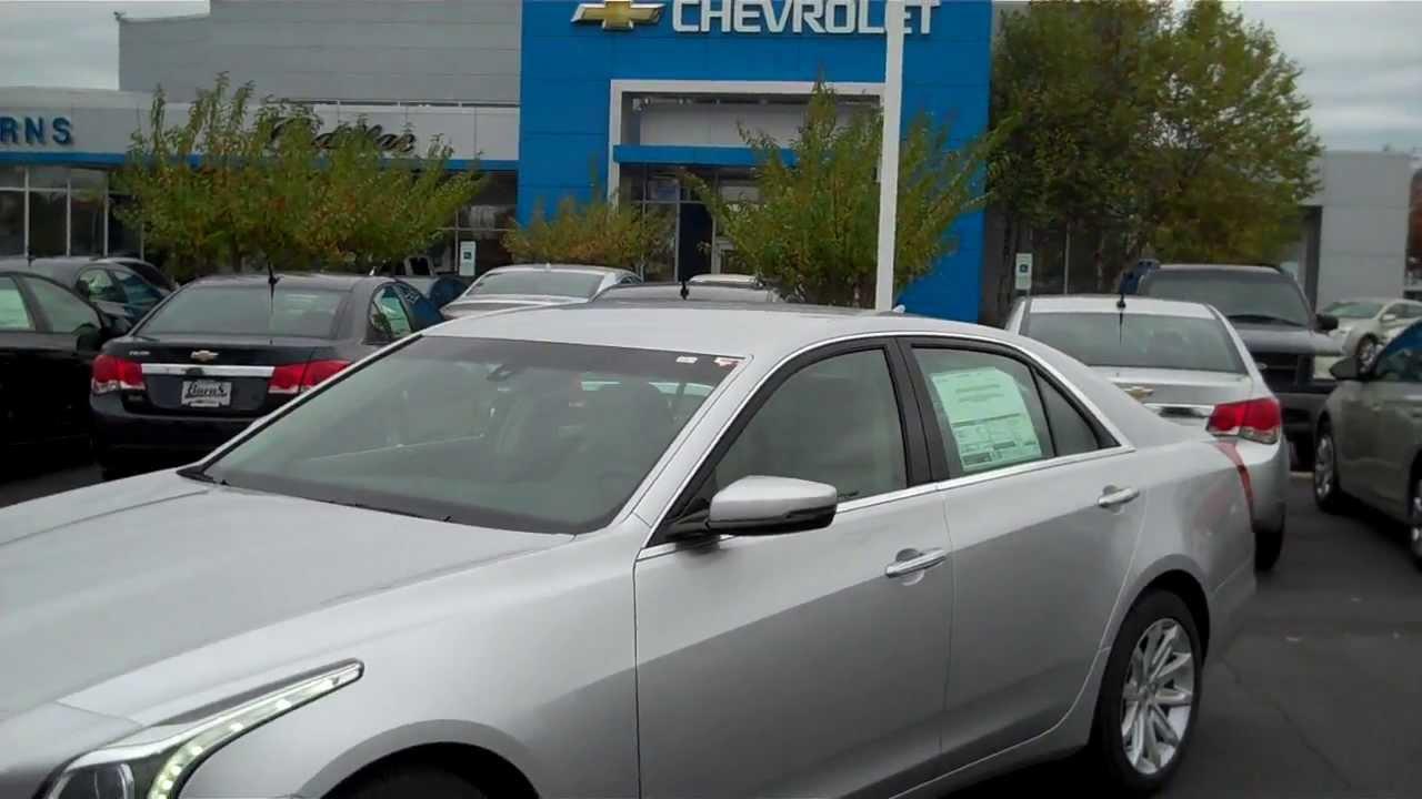 2014 Cadillac CTS 2 0T Silver Ice Metallic, Burns Cadillac Chevrolet