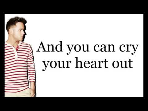 Olly Murs - Cry Your Heart Out Lyrics on screen (HD)