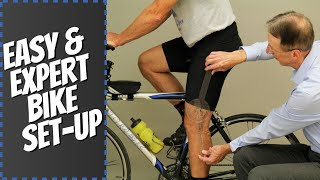 Easy & Expert Bicycle Set-Up: Stop Knee, Back, & Sciatic Pain