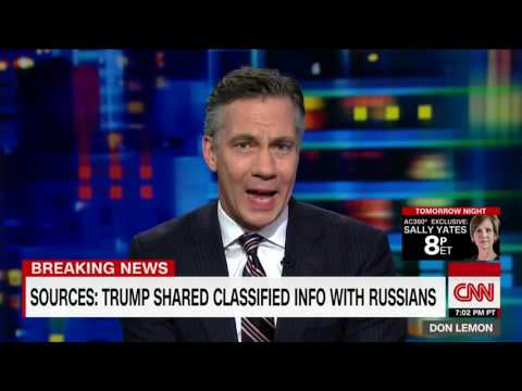 Sources Say Trump Shared Classified Information