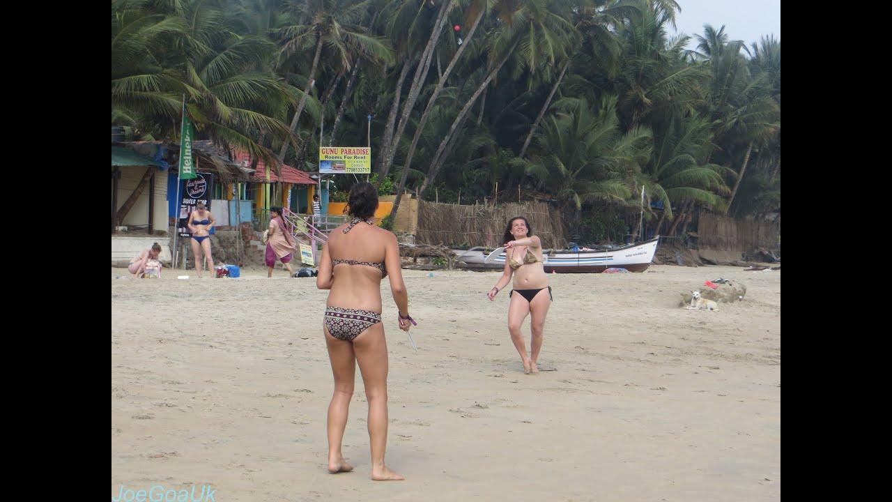 Голый пляжи гоа посетила