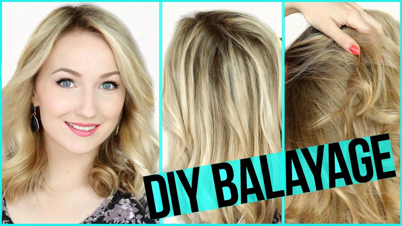 diy balayage selber f rben auf blondem haar das. Black Bedroom Furniture Sets. Home Design Ideas