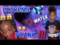Extreme Water Prank (Cass Pranks Lani & Kanylah) 😱