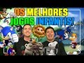 🌎OS MELHORES JOGOS INFANTIS - Para crianças de todas as idades! (Xbox, Playstation, PC, Android...)