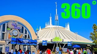 Space Mountain Gift Shop 360˚ VR HD Magic Kingdom, Walt Disney World