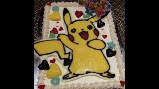 Pikachu Chocolate Transfer