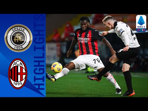 Spezia AC Milan Goals And Highlights