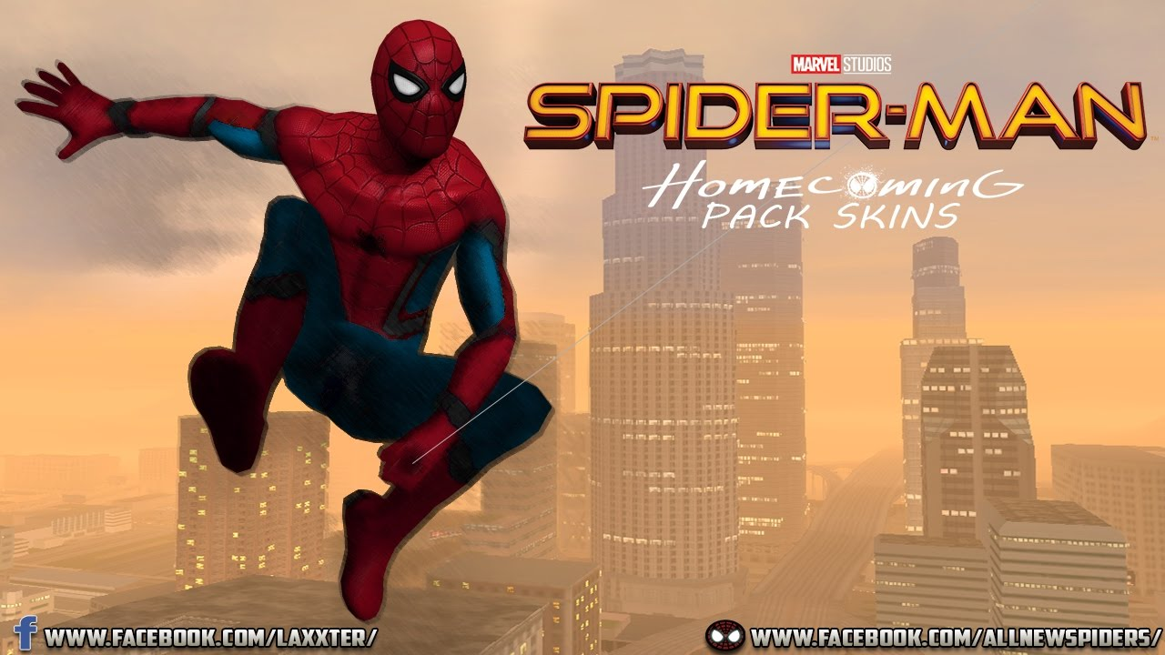 Spiderman Homecoming Free 123movies: Pack Skins Beta Spider-Man Homecoming