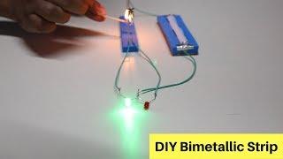 DIY Bimetallic Strip | ThinkTac