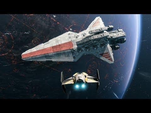 Star Wars Battlefront 2 - SPACE BATTLE OF CORUSCANT MOD!