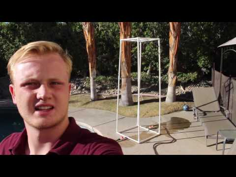 HOMEMADE DIY OUTDOOR SHOWER