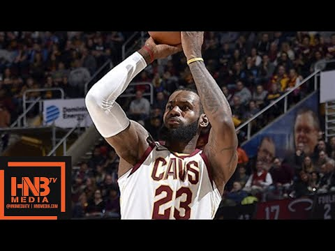 Cleveland Cavaliers vs Miami Heat Full Game Highlights / Jan 31 / 2017-18 NBA Season