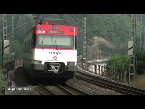 TRAINSPOTTING (VOL. 269). Trenes renfe. Música: The Adjustment  Bureau Soundtrack Score Suite.