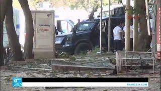 السلطات التركية تتهم حزب العمال الكردستاني بتفيذ انفجار مدينة فان