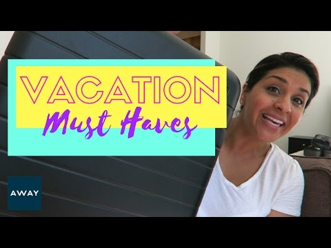 Vacation Travel Must Haves  |  From a Flight Attendant  |  AWAY LUGGAGE  |  AD