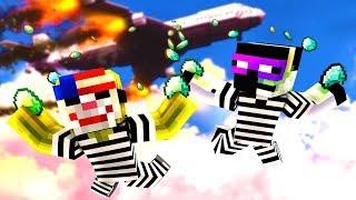 EINBRUCH in ein FLUGZEUG?! - Minecraft EINBRUCH
