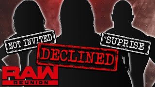Which WWE Wrestlers REJECTED An Invitation to WWE RAW Reunion! HUGE Surprise Returns!?