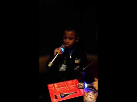 Lil bro Lekan doing Drake - The Motto Karaoke