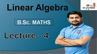 B.Sc. Maths | Linear  Algebra …