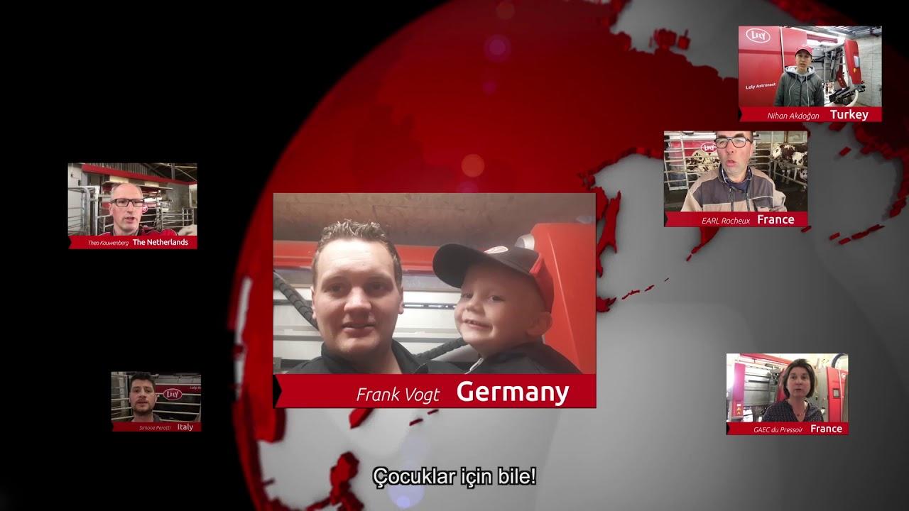 Lely Astronaut A5 – Bir yıllık deneyimler – video 8 (TR)