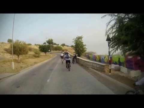GoPro Hero 3 bike trip in muscat (PDO Heights)